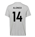 2020-2021 Liverpool Ground Tee (Grey) - Kids (ALONSO 14)