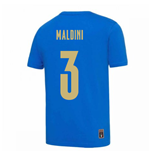 2020-2021 Italy DNA Tee (Blue) (MALDINI 3)
