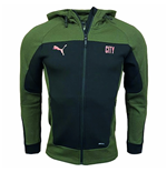 2020-2021 Man City Evostripe Hooded Jacket (Black)