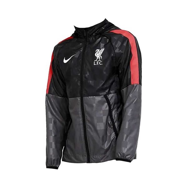 2020-2021 Liverpool Allweather Fan Jacket (Dark Grey) - Kids