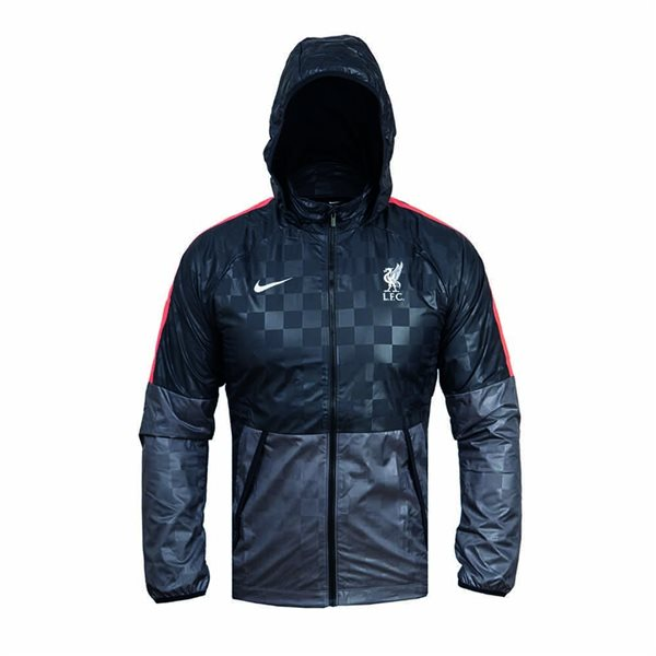 2020-2021 Liverpool Allweather Fan Jacket (Dark Grey)