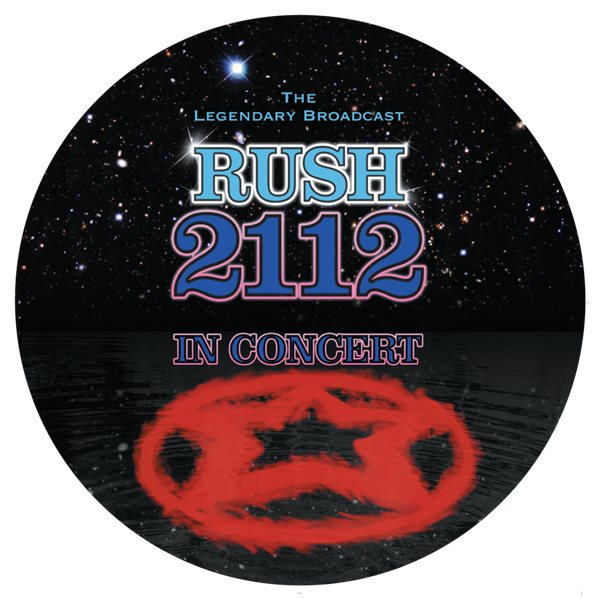 Vynil Rush - 2112 In Concert (Picture Disc)