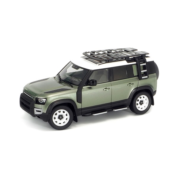LAND ROVER DEFENDER 110 WITH ROOF PACK PANGEA GREEN 2020