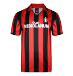 Score Draw Ac Milan 1988 Retro Football Shirt