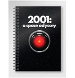 2001 A Space Odyssey Poster Notebook