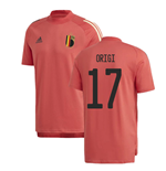 2020-2021 Belgium Adidas Training Tee (Red) (ORIGI 17)