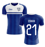 2020-2021 Everton Home Concept Football Shirt (OSMAN 21)