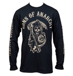 Sons of Anarchy Long Sleeve With Sleeve Prints