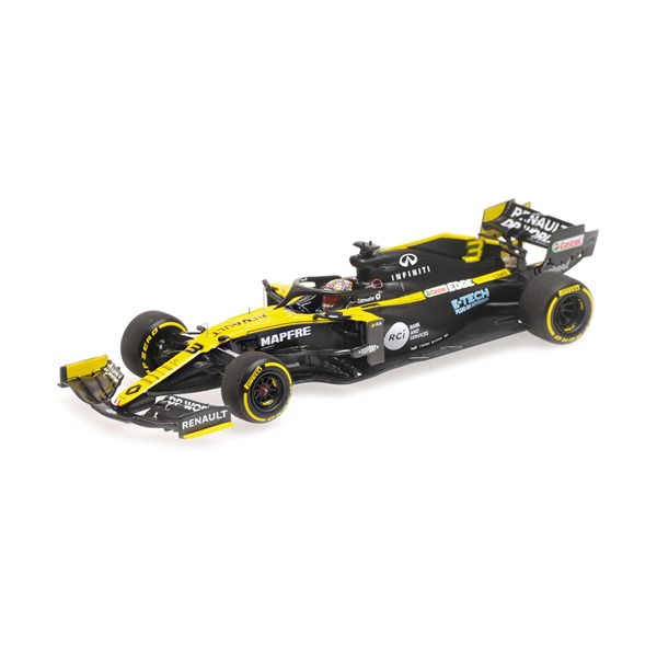 RENAULT DP WORLD F1 TEAM R.S.20 DANIEL RICCIARDO 2020