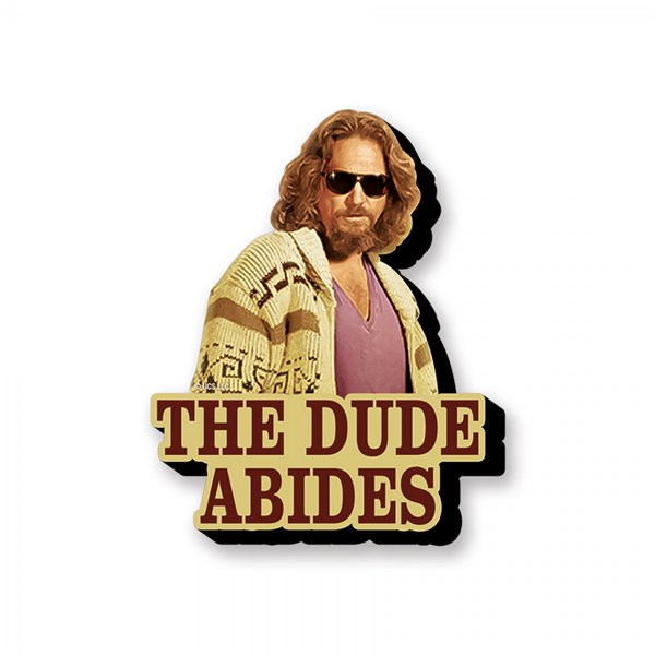 The Big Lebowski The Dude Abides Magnet