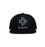 Sony PlayStation Snapback Cap Denim Symbols