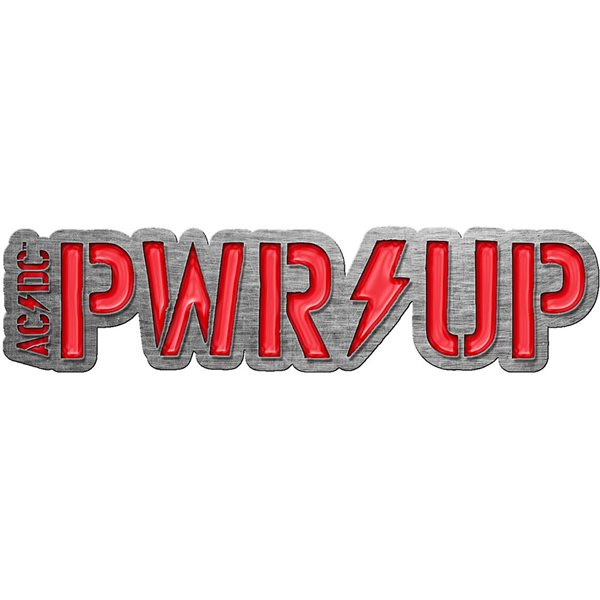 AC/DC Pin Badge: PWR-UP