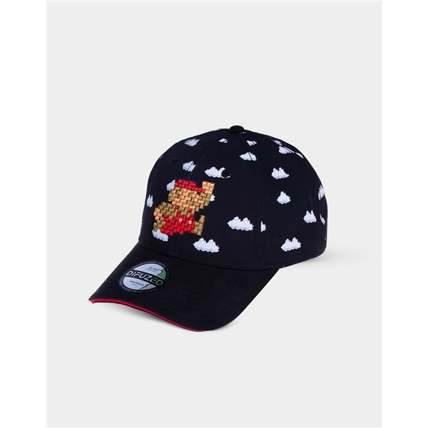 Nintendo - 8Bit Super Mario Clouds Adjustable Cap