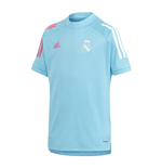 2020-2021 Real Madrid Training Shirt (Bright Cyan) - Kids