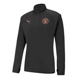 2020-2021 Man City Warmup Midlayer (Black)