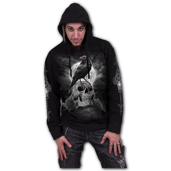 Grave Walker - Hoody Black (Plain)