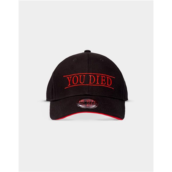 Demon's Souls - You Died Adjustable Cap