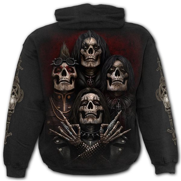 Faces Of Goth - Hoody Black (Plain)