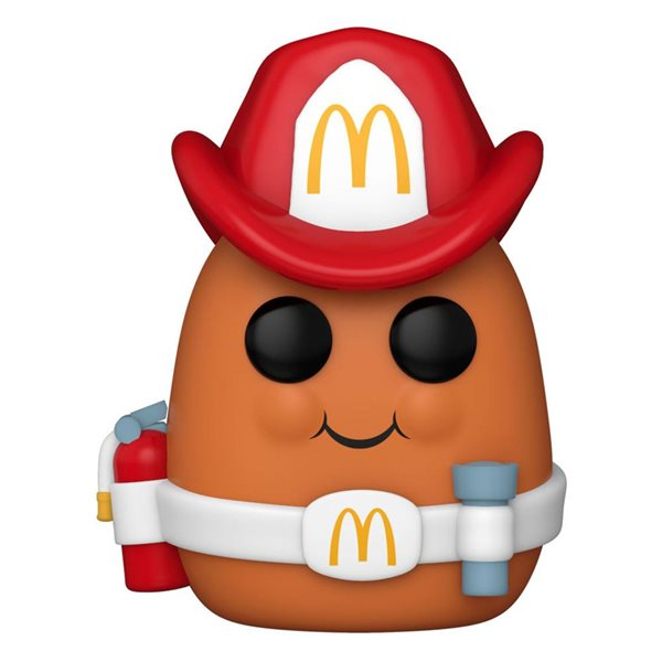 McDonald's POP! Ad Icons Vinyl Figure Fireman Nugget 9 cm