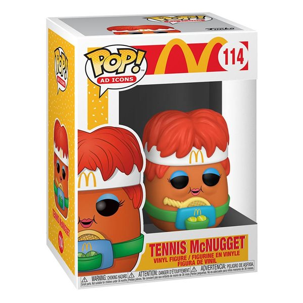 McDonald's POP! Ad Icons Vinyl Figure Tennis Nugget 9 cm