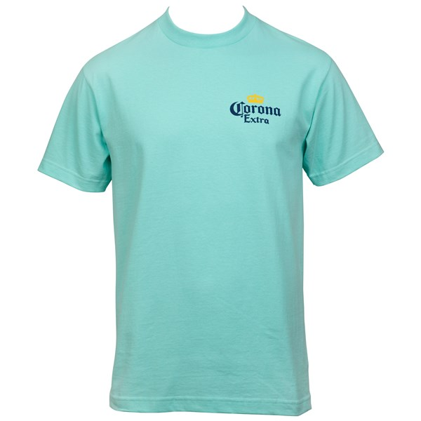 Corona Extra Find Your Beach Back Print T-Shirt