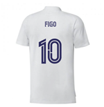 2020-2021 Real Madrid Training Tee (White) (FIGO 10)