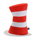 Dr Seuss Cat In The Hat Tricot Plush Hat