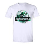 Jurassic World T-Shirt Spraypaint Logo