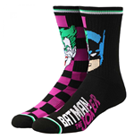 Batman  and  Joker Split Crew Socks