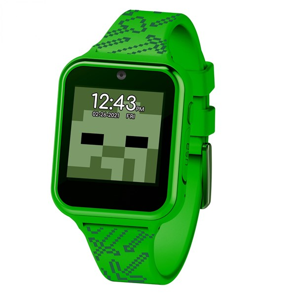 Minecraft Creeper Symbol Accutime Interactive Kids Watch