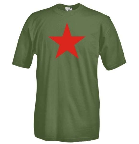 Red Star  - Communism T-shirt
