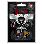 Saxon Plectrum Pack: Wheels Of Steel