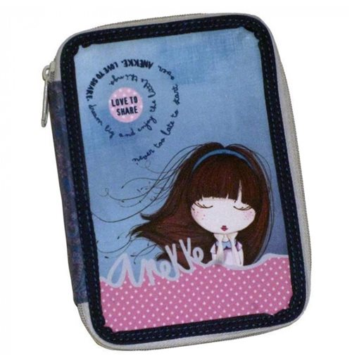 Anekke (LG) pencil case double filled 95100