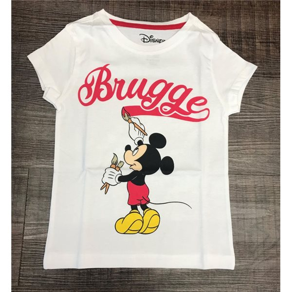 Disney - Mickey Mouse - Mickey Paints Brugge - Girls T-shirt