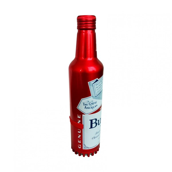 Budweiser Aluminum Bluetooth Bottle Speaker