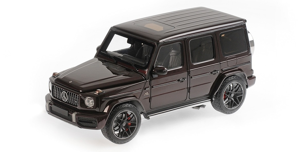 MERCEDES AMG G63 DARK RED METALLIC 2018