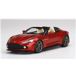 ASTON MARTIN VANQUISH ZAGATO SPEEDSTER LAVA RED TOP SPEED