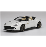 ASTON MARTIN VANQUISH ZAGATO SPEEDSTER ESCAPING WHITE TOP SPEED