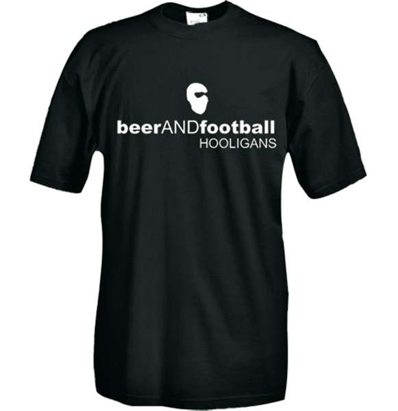Beer And Football T-shirt