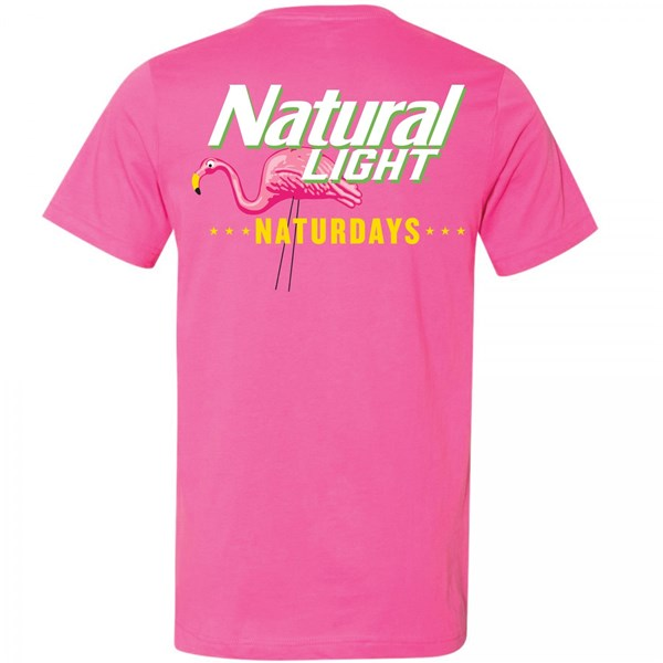 Natural Light Naturdays Pineapple Pink Colorway T-Shirt