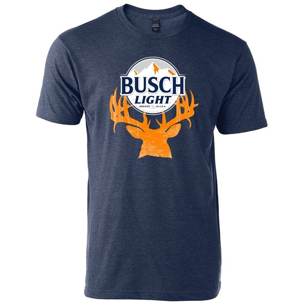 Busch Latte Hunter Deer Horns T-Shirt