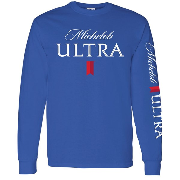 Michelob Ultra Sleeve Print Long Sleeve Shirt