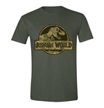 Jurassic World T-Shirt Camo Logo