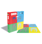 Queen Puzzle Hot Space (500 Piece Jigsaw PUZZLE)