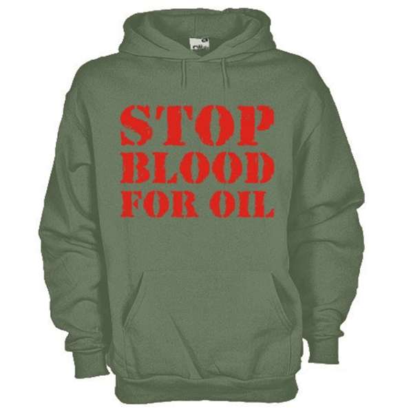 Stop Blood For Oil Hoodie