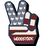 Woodstock Peace Magnet Magnets