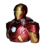 Iron Man Deluxe Bust Bank Money Box