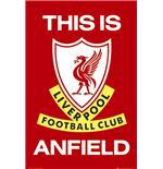 Liverpool This is Anfield Poster