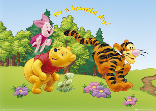 official winnie the pooh poster buy online on offer