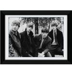 "The Beatles Pose Framed 16x12"" Photographic Print"